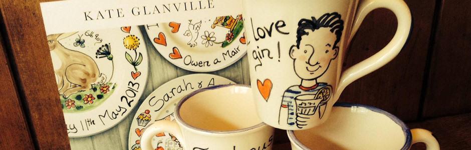 GinHaus Deli, I love gin, mugs