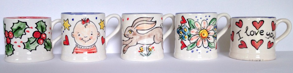 Kate Glanville Mugs