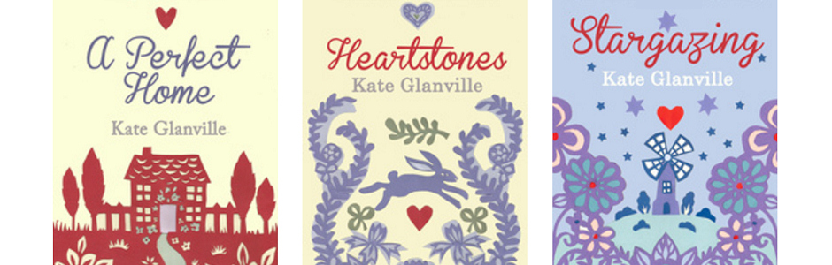 Kates three published novels, Stargazing, Heartstones, a Perfect Home