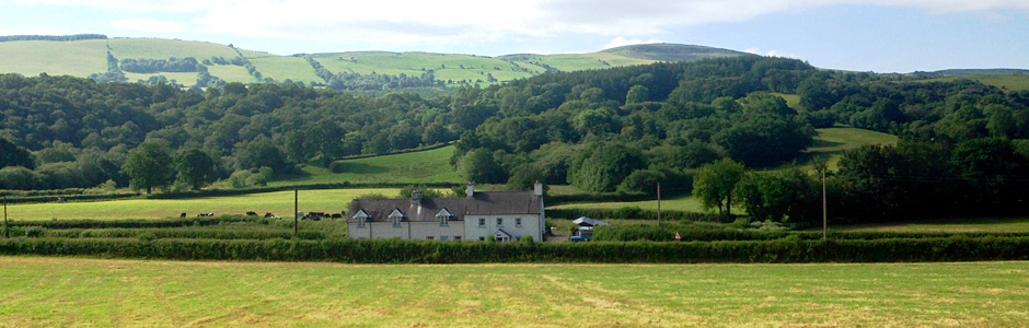 Kate's House in Bethlehem in The Brecon Beacons National Park