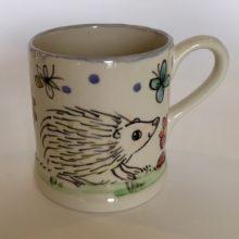 Hedgehog hand painted Mug