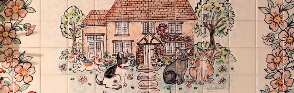 Jessamine Cottage Kitchen Tile Mural