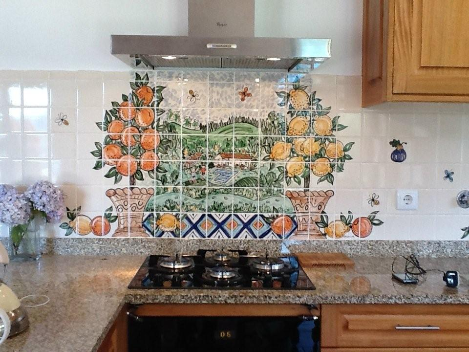 kitchen tile murals painted kitchen tiles and tile murals 3269