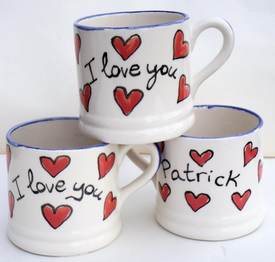 kate glanville i love you mug