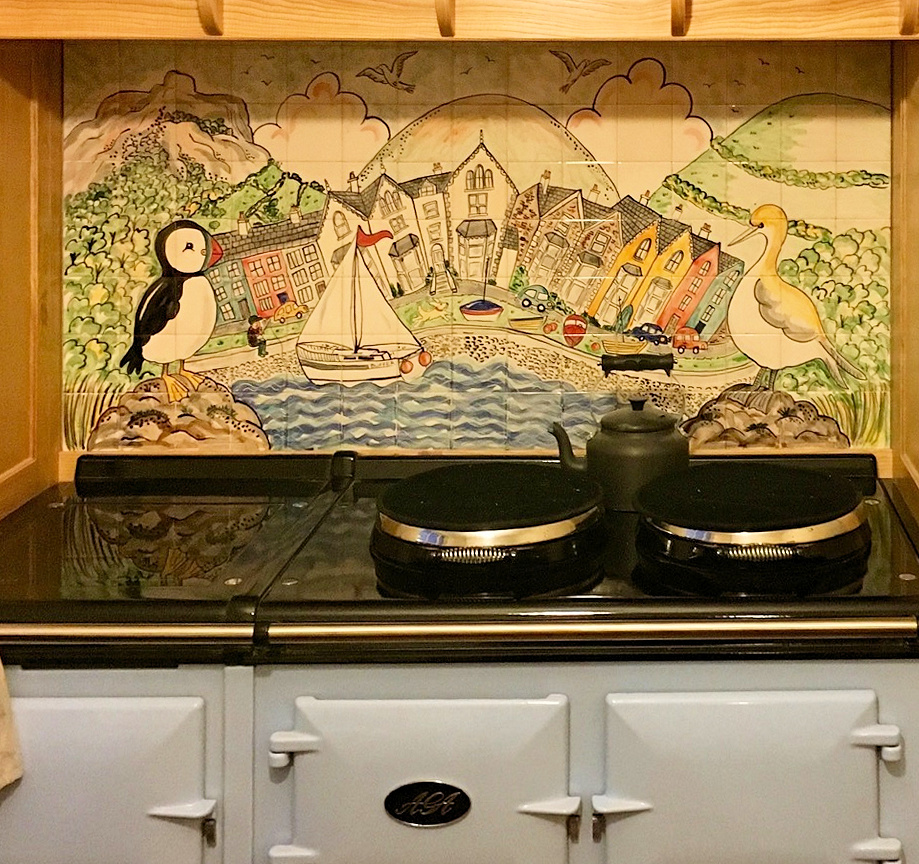 tile scenes kitchen painted kitchen tiles and tile murals 2773