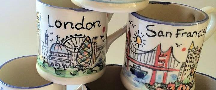 personalised city mugs