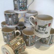 welsh dresser personalised corporate mugs
