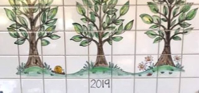 willow kitchen cooker tile mural