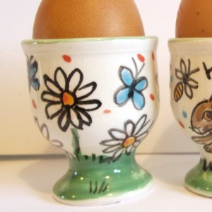 Flowers Egg Cup