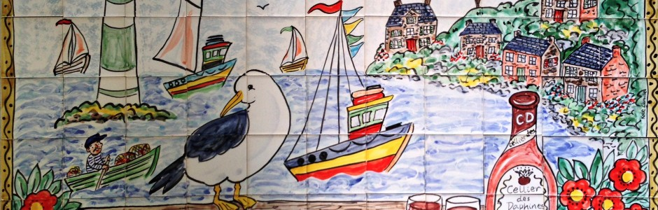Brittany View Tile Mural