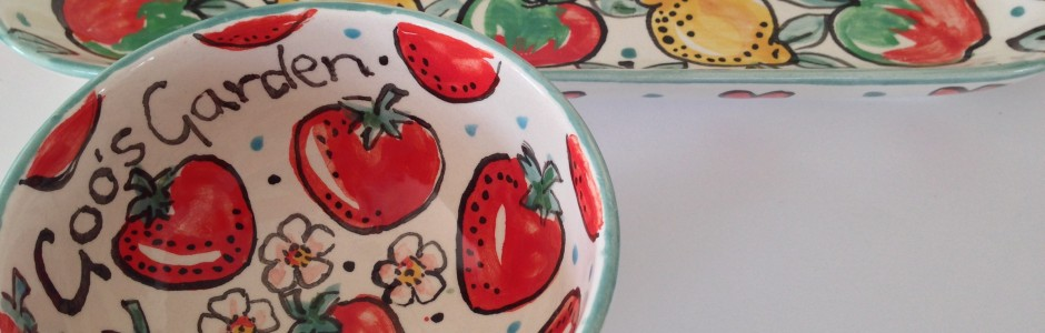 Promotional pottery