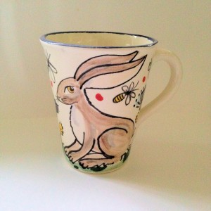Hare Christmas Mug