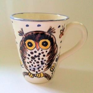 Owl Christmas Mug