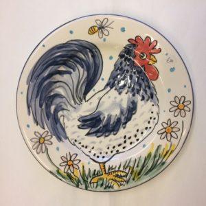 Hen Plate Easter gift