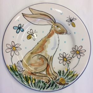 Hand painted Easter gift