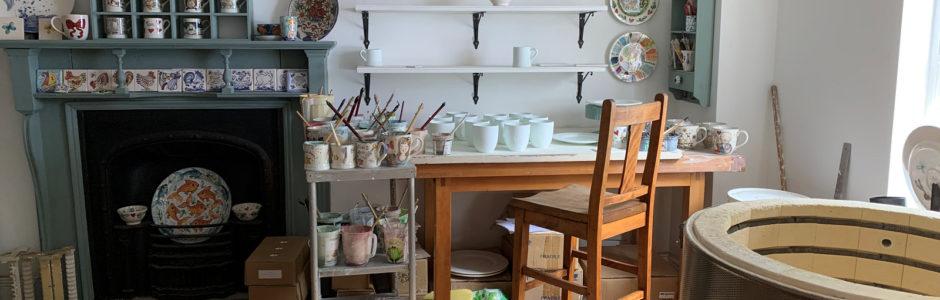 New pottery studio in Llandeilo