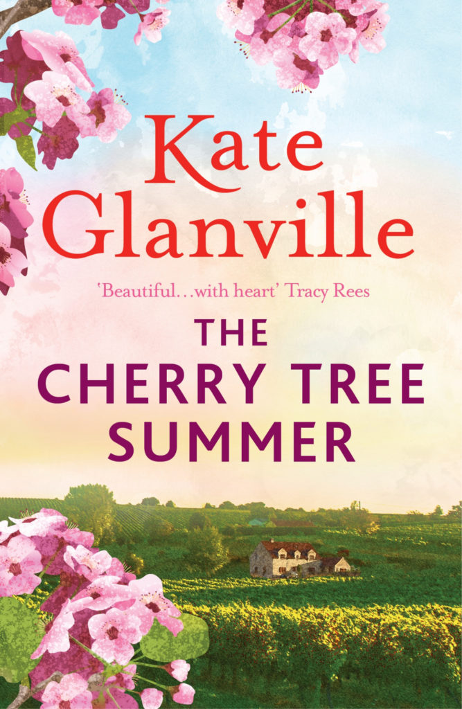 The Cherry Tree Summer by Kate Glanville book cover